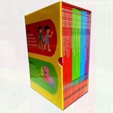 New Read it Yourself with Ladybird Collection 30 Book Box Set Pack Level1,2,3,4)