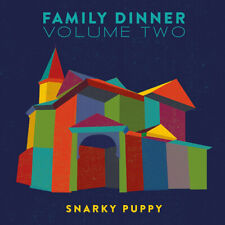 Snarky Puppy : Family Dinner - Volume 2 CD Album with DVD 2 discs (2016)