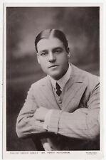 PERCY HUTCHISON - Actor - Philco Real Photo #3265F - c1900s era Theatre postcard