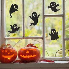 Halloween ghost silhouette window stickers | Halloween window sticker
