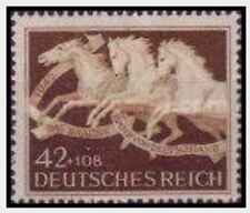 Timbre Chevaux Allemagne 739 ** lot 27259