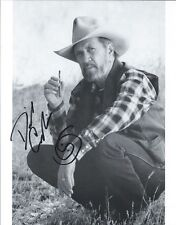 David Carradine Kung Fu autographed 8x10 photo with COA by CHA