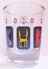 2002 SALT LAKE CITY  OLYMPICS   SHORT SHOT GLASS