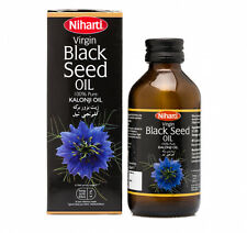 Niharti Black Seed Oil - Schwarzkümmelöl erste Pressung, Ayurveda, Kalonji Öl