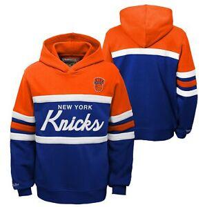 Mitchell & Ness NBA Youth Boys (8-20) New York Knicks Head Coach Hoodie