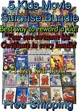 5 Kids DVD Movies! 5 Great Movies! DISNEY, DREAMWORKS & More Surprise Dvd Bundle