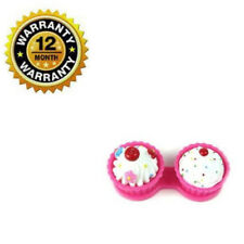 Contact Lens Case Kit Holder New Pink Cute Travel Kit Storage Hard Container Box