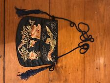 More details for vintage silk chinese purse