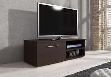 TV Unit Cabinet TV Stand Entertainment Lowboard Vegas 120cm, Wenge Dark Oak