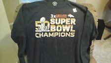 Denver Broncos Super Bowl 50 3X Champions 47BRAND Shirt