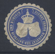AUSTRIA 1900 OFFICIAL FISCAL QUEEN EMPRESS ROYAL SEAL