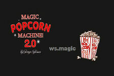 Popcorn 2.0 (with DVD) Magic Trick Close Up Street Kids Party Show Stage Food DD