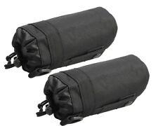 2X Outdoor Tactical Molle Water Bottle Bag Pouch Backpack Belt Holder Hunting BK