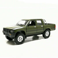 1:32 Toyota Hilux Pickup Truck Model Car Alloy Diecast Gift Toy Vehicle Green