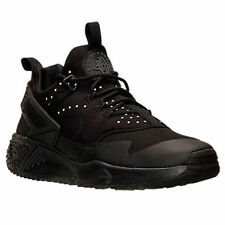 sports shoes aacd7 33f92 Men s Nike Air Huarache Utility Triple Blk Reflect Running Shoes 806807 002  ...
