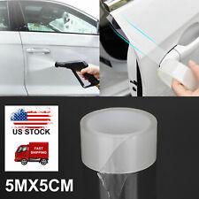 5M 4Door Edge Scratch Clear Guards Trim Protector Film Car Truck Van Transparent