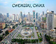 China - CHENGDU - Travel Souvenir Flexible Fridge Magnet
