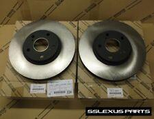 Lexus ES300 ES330 (2002-2006) OEM Genuine FRONT BRAKE ROTOR SET - ROTORS (x2)
