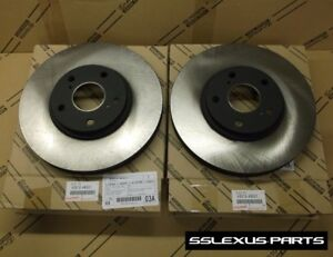 Lexus RX300 (1999-2003) OEM Genuine FRONT BRAKE ROTOR SET - ROTORS (x2)
