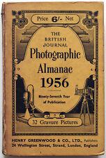 The British Journal Photographic Almanac 1956 mit 32 Tiefdrucken, 628 Seiten