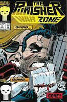 The Punisher Comic Issue 9 War Zone Modern Age First Print 1992 Dixon Harris