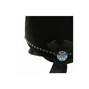 Karoo EquineSwarvoski Saphire Centre Diamante Hat Band