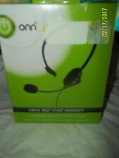 ONN XBOX 360 CHAT HEADSET - USE with XBOX 360 GAME CONSOLE