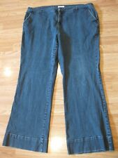 Womens Size 18 W Charter Club Allison Fit Full Length Stretch Jeans 40 x 29.5