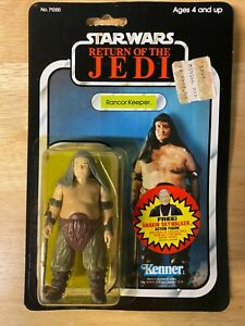 Star Wars ROTJ Rancor Keeper Figure - 1984 Kenner 77-Back - Unopened MOC