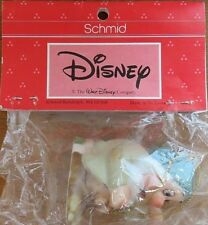 "Vintage Walt Disney Dwarfs Schmid Ceramic Ornament - Sleepy & Triangle 2.5"""