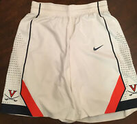 Virginia UVA Cavaliers Basketball Malcolm Brogdon Game Worn White Nike Shorts