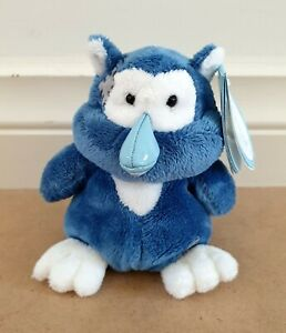 Carte Blanche My Blue Nose Friends No.72 Midnight The Owl 13cm Plush Toy NWT