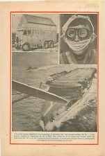 Prince Abbas Hilmi Truck Camion Mobil-Home/ Aircraft carrier 1933 ILLUSTRATION