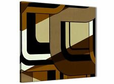 Brown Cream Painting Bathroom Canvas Accessories - Abstract 1s413s - 49cm