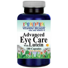 Advanced Eye Care With Lutein 40mg, Bilberry 260mg, L-Glutathione 50mg 180 Caps