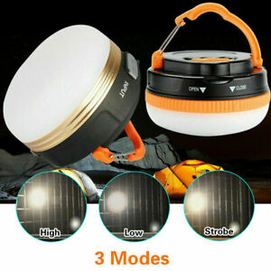 Super Bright Night Lamp USB Rechargeable LED Camping Light Tent Lantern Outdoor