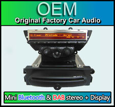 BMW Mini Cooper R56 Impulso Lettore CD Stereo,DAB,Bluetooth,USB,Aux + Display