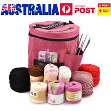 AU Woolen Yarn Storage Bag Knitting Crochet Ball Holder Organizer Bag Basket