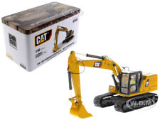 CAT CATERPILLAR 320 HYDRAULIC EXCAVATOR W/ OPERATOR 1/50 DIECAST MASTERS 85569