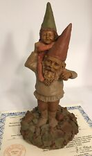 Tom Clark Signed Gnome Papa & Princess Ed #75 with Certificate of Authenticity