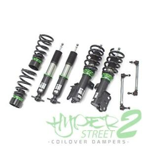 for fits MKZ 13-19 Coilovers Lowering Kit Hyper-Street II by Rev9
