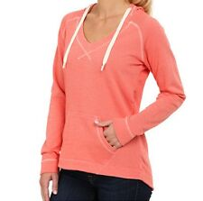 COLUMBIA PFG Tropic Haven Solid Hoodie - Wild Melon Heather WOMEN L NWT~FnF