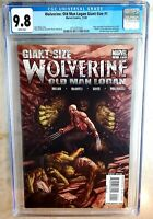 Wolverine Old Man Logan Giant Size #1 Marvel 2009 CGC 9.8 NM/MT WP Comic M0129