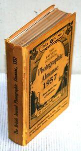 British Journal Photographic Almanac - Archive Photo Photography Hardback 1957