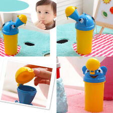 Convince Baby Portable Urinal Travel Car Toilet Vehicular Potty Yellow For Boys