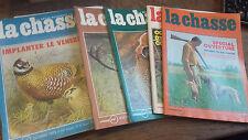 lot de 11 La revue nationale de la chasse 1975 janvier février mars mai juin ju
