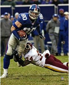 """Jeremy Shockey New York Giants Unsigned Escaping Tackle 8"""" x 10"""" Photo"""