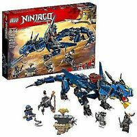 LEGO NINJAGO Masters of Spinjitzu: Stormbringer 70652 Ninja Toy Building Kit...