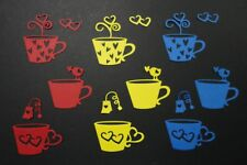 Tea Cup Die Cuts - Pkt 9