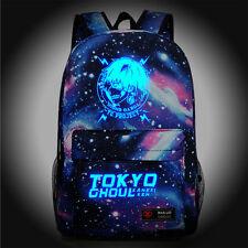 Tokyo Ghoul Luminous Starry sky Backpack Travel bag Shoulder bag Schoolbag Anime